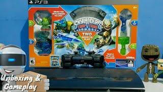 Skylanders Trap Team Starter pack Unboxing &  Gameplay | PS3