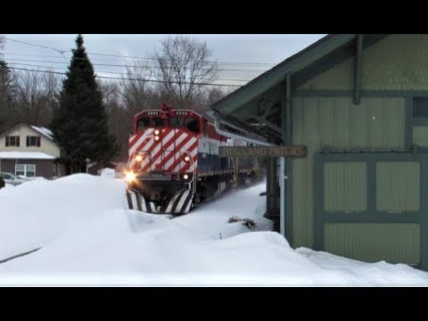 """""""Winter Railroading Hereabouts"""""""