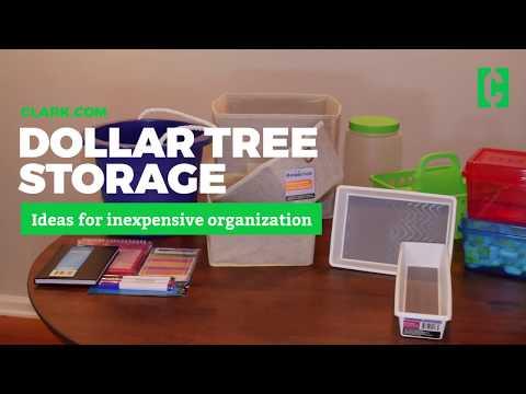 Dollar Tree Organization And Storage Hacks