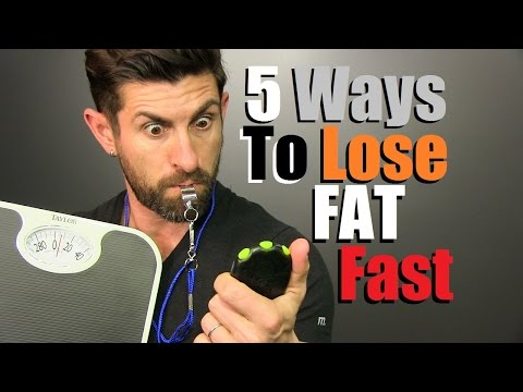 Get Lean QUICK! 5 Ways To Lose Body Fat FAST