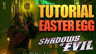 TUTORIAL: Como completar o EASTER EGG de SHADOWS OF EVIL! - BO3 Zombies