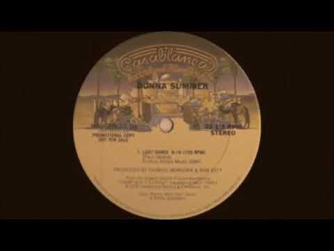 Donna Summer   Last Dance Original Extended Version Casablanca Records 1979