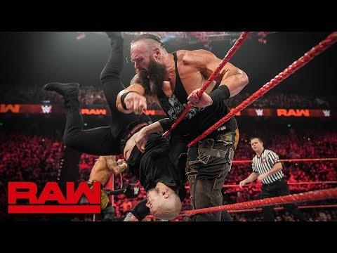 HINDI - Braun Strowman & Ricochet vs. Drew McIntyre & Baron Corbin: Raw, 29 April, 2019