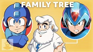 The Complete Mega Man Family Tree | The Leaderboard