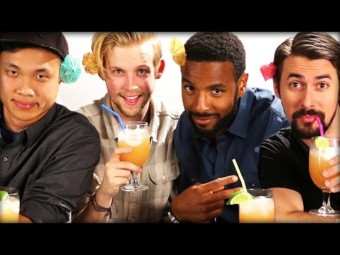 "Men Taste Test ""Girly Drinks"""
