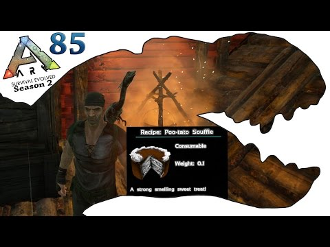 ARK Survival Evolved Gameplay - S2 Ep85 - RP Cooking Recipe System & Compy Taming  - Let's Play