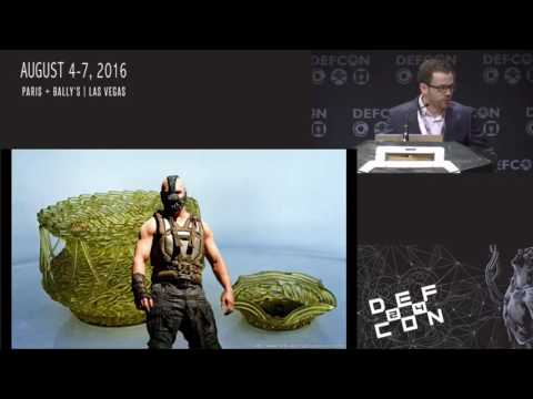 DEF CON 24 - Jittery MacGyver: Building a Bionic Hand out of a Coffee Maker