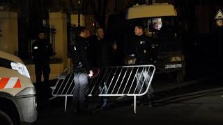 Mort de Johnny Hallyday : Sécurisation de son domicile (6 décembre 2017, Marnes-la-Coquette, France)