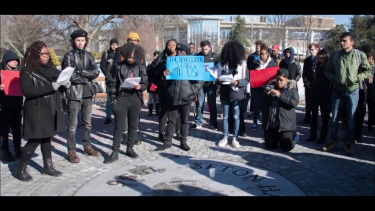 Students Are Staging Major Protest At Seton Hall To Demand Funding For Diversity