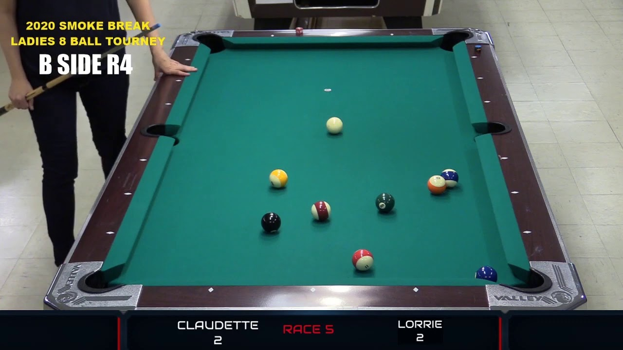 2020 Smoke Break Billiard Ladies 8 Ball Tournament --- ELITE 8 Part 1