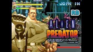 1994 [60fps] Alien vs. Predator (Euro) 4069800pts Maj.D.Schaefer ALL