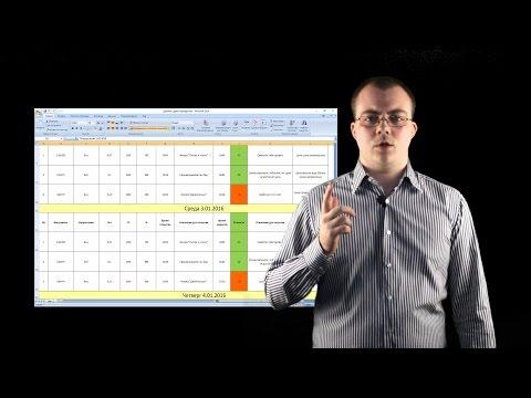 Дневник трейдера в Excel. Как и зачем его вести + Шаблон для скачивания