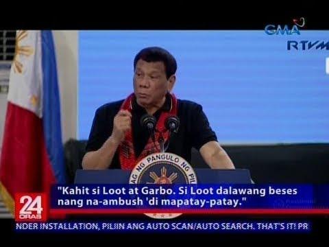 Ilang heneral na sangkot umano sa ilegal na droga, muling binanggit ni Pres. Duterte