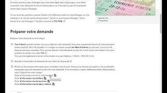 Visa Schengen- Visite Familiale/ تأشيرة شينكن/ زيارة عائلية