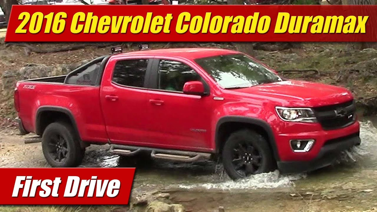 2016 Chevrolet Colorado Duramax First Drive
