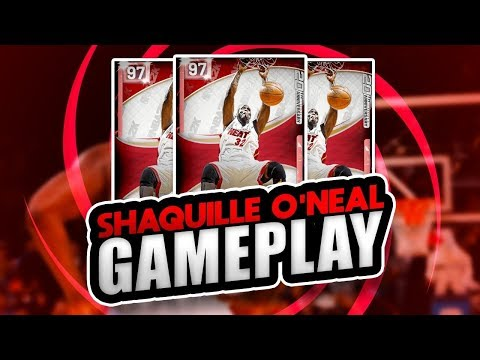 PINK DIAMOND SHAQUILLE O'NEAL (SHAQ) GAMEPLAY! HE IS NOT THAT GOOD! NBA 2K19 MYTEAM