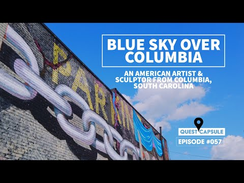 An American Artist & Sculptor - Blue Sky Over Columbia - Murals, Sculptors