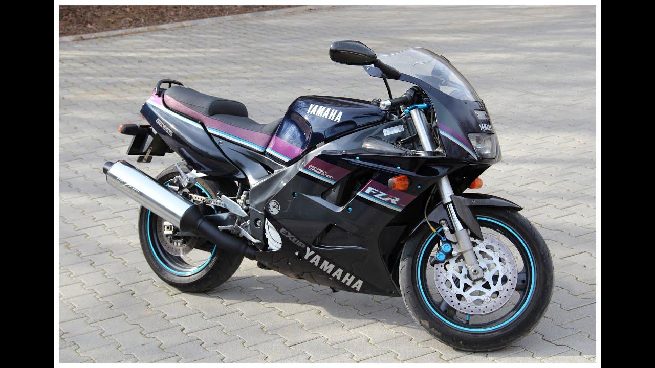 Yamaha FZR 1000 Exup 1992 - YouTube