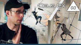 Deus Ex Go (iOS 2016) Yes, we do mobile games too - The Backlog