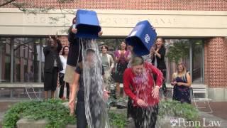 Penn Law's Heather Frattone and Jen Leonard take the ALS Ice Bucket Challenge