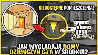 Jak wyglądają domy dziewczyn CJ'a w środku - Ukryte pomieszczenia w GTA San Andreas!
