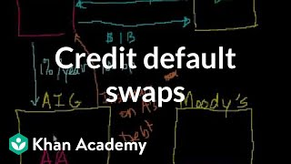Credit Default Swaps(Introduction to credit default swaps More free lessons at: http://www.khanacademy.org/video?v=a1lVOO9Y080., 2008-09-28T19:39:16.000Z)