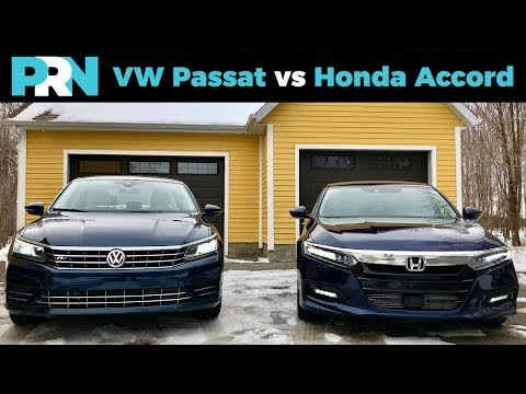 Volkswagen Passat vs Honda Accord | TestDrive Showdown