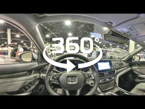 2018 Honda Accord Virtual Interior Review by Autohitch