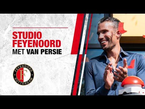 Robin van Persie in Studio Feyenoord! | Dit keer vanaf het nieuwe Varkenoord