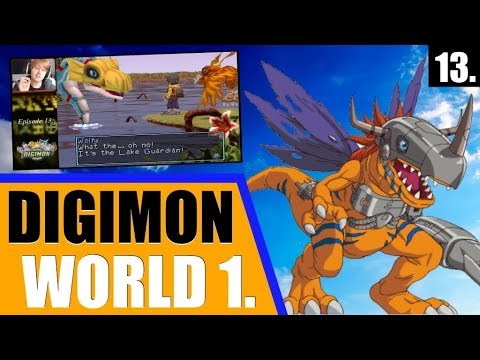 Digimon World 1: Playthrough (2017) - Ep. 13 - THE GUARDIAN OF THE LAKE & THE LANDS BEYOND!