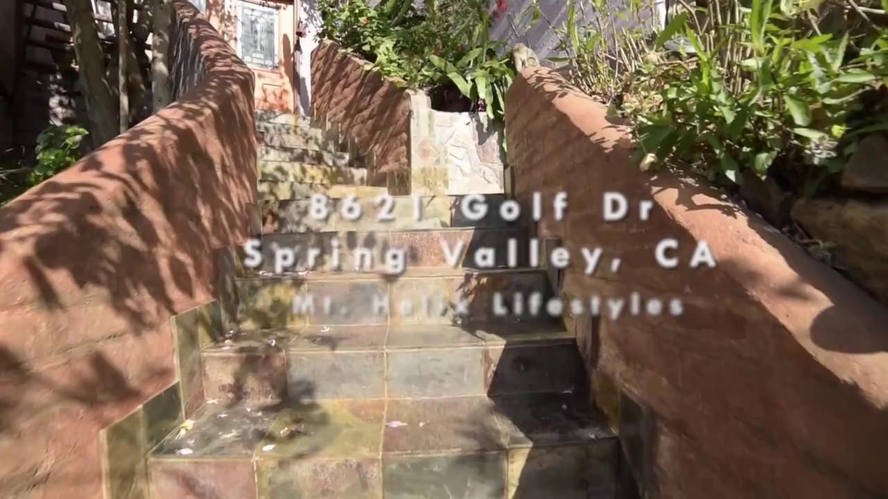 8621 Golf Drive Spring Valley, Ca 91977 Home & Garden Video Tour ...
