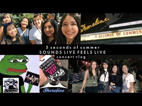 5SOS SLFL VLOG 9/2/2016: Mountain View, CA | HelloItsEvelyn