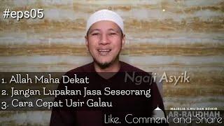 Allah Maha Dekat , Cara Cepat Usir Galau !! Habib Novel Alaydrus