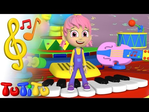 TuTiTu Toys and Songs for Children | Music Table Song