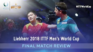 Fan Zhendong & Timo Boll Match Review | 2018 ITTF Men's World Cup