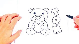 How to draw I love You So Much | Love Drawings Tutorials