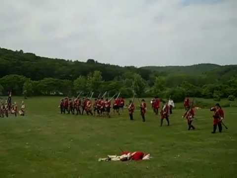 FrenchIndian War ReenactmentCharlestown New Hampshire  YouTube