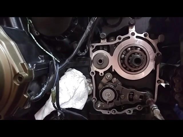 Zrx factory pro shift kit part 2