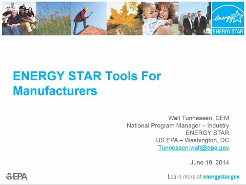 Energy Star Tools for Industry
