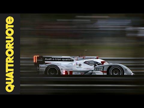 Audi R18 2014 Test Drive – Prova su pista