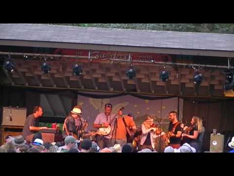 Donna The Buffalo and Guests at The Great Blue Heron Music Festival 2017