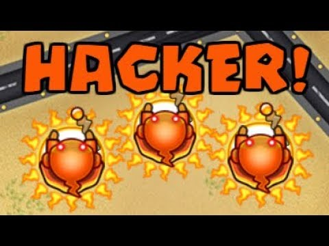 Can Wizard Beat a Hacker? | BTD Battles Tournament Hacker! (Bloons TD Battles)