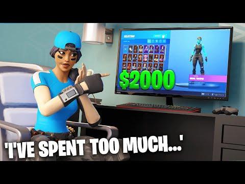 Exposing How Much Money I've Spent On Fortnite Skins... (shocking)