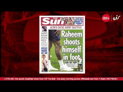 There's a trend in The Sun and Daily Mail's Raheem Sterling stories...
