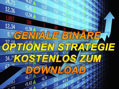Binare optionen strategie deutsch