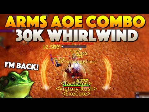 30k Whirlwind AOE DMG [Insane PvP Combo] [Arms Warrior]