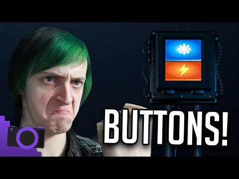WHAT DOES THIS BUTTON DO?! |  FNAF SISTER LOCATION THEORY - DAGames