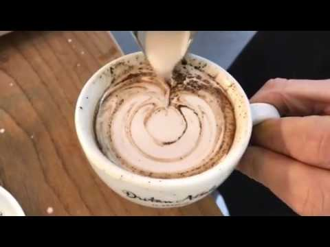 LIVE BARISTA TUTORIAL Part 1 - How to froth the milk and train your Latte Art skills at home