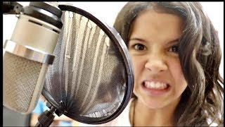 SHE'S SO NERVOUS TO DO THIS! | Voice Lessons with Nadia Khristean
