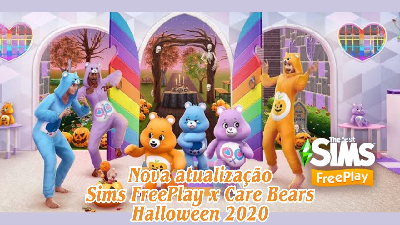 Halloween 2020 Sims The Sims FreePlay   Sims Freeplay x Care Bears   Halloween 2020